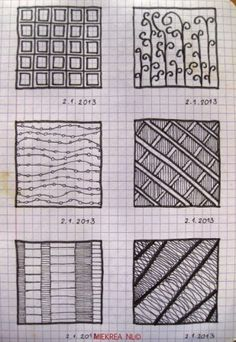 20 Patterns drawn by Miekrea NL -  designed by Others