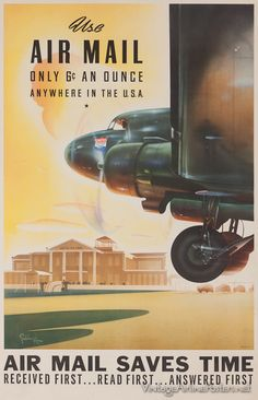 United Air Lines vintage airline poster Vintage Advertisements, Vintage Ads, Vintage Airline, Retro Ads, United Airlines, Aviation Art, Advertising Poster, Vintage Travel Posters, Illustrations Posters