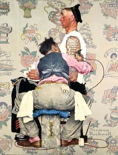 Norman Rockwell :)