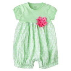 Just One You™Made by Carter's® Infant Girls' Romper - Mint Green target 6