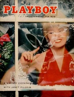 Playboy magazine cover December 1955