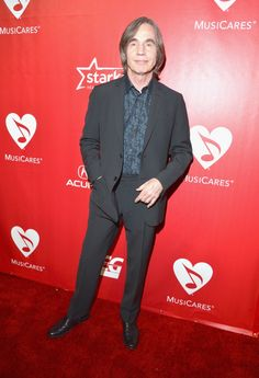 Jackson Browne�arrives at the 2014 MusiCares Person of the Year tribute to Carole King on Jan. 24 in Los Angeles