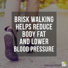 #FastFactFriday: Walking is just as healthy as running. Sure, it won't burn as many calories as quickly, but a study in the Journal of the American Medical Association found brisk walking is very effective at reducing deep abdominal fat - the most dangerous kind! While running can burn twice the calories walking does per minute, if you're just starting a fitness routine, walking is a great place to start.