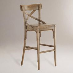 Perfect barstools from World Market- French Bistro Stools