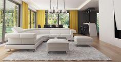 PROIECT CD-1021 « Firmă de construcții case Casa Top, Sofa, Couch, New Homes, Furniture, Home Decor, Houses, Projects, Homemade Home Decor