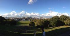 Beautiful wiev in Greenwich park :)
