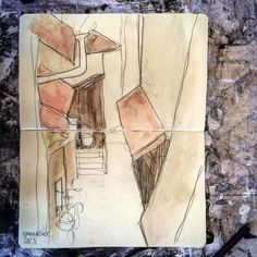Une ruelle in #Romainmôtier (2011-journal graphique) Going back on my archives here is my last sketchbook from life drawing in Switzerland between 2010 and 2012. In these days I used to draw a lot from real life on different moleskin sketchbooks. Using my #carandache ballpoint and fix pencil white acrylic tube and water colours. #drawing #draw #sketch #ballpointpen #graphite #ballpointpenart #sketchbook #lifedrawing #moleskine #moleskineart #acrylic ##portrait #portraiture #anatomyart… Ballpoint Pen Art, Acrylic Tube, Caran D'ache, Anatomy Art, White Acrylics, Life Drawing, Moleskine, Artist Art, Pencil Drawings