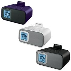 This iHome Bluetooth Dual Alarm Clock is a complete, multi-tasking station for today's busy digital lifestyle. Wake to Bluetooth audio or alarm. Convenient dual alarms let you set separate wake times whenever desired. Dorm Room Checklist, Dorm Life, College Life, 1st Apartment, College Dorm Rooms, Dorm Decorations, Digital Alarm Clock, Cool Gadgets, Tech Accessories