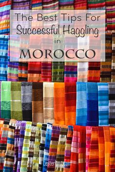 I have crafted a list of my best tips for haggling in Morocco. This will help you achieve a successful shopping experience in the souks of Morocco. Visit Marrakech, Visit Morocco, Morocco Travel, Africa Travel, Marrakech Travel, Marrakech Morocco, Travel Advice, Travel Guides, Travel Tips