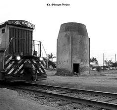 Maquina de ferrocarril No. 1547 en Cd. Obregon Sonora Mexico