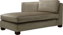 Hudson Chaise Left Arm - Baker Baker Upholstery