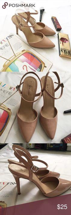 New Look Nude Heels In good condition New Look Shoes Heels