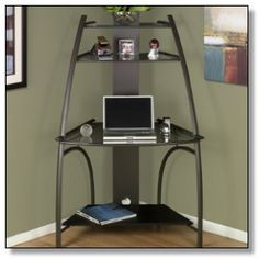 1000 Images About Small Corner Computer Desk On Pinterest