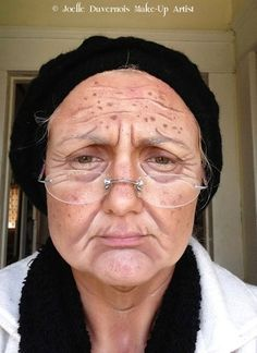 Makeup with Images with Old Age Makeup with makeup camera ready old age on hands old age with wig theatrical