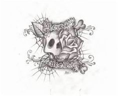Love Death Tattoo Design By Metalhead99 On DeviantART