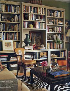 elledecor bookcase