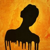 Dripping Silhouette
