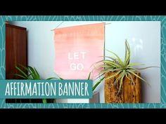 ▶ DIY Affirmation Banner - HGTV Handmade - YouTube