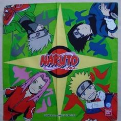 Naruto Handkerchief Japangoodsshop Items from Japan :  New & Used Thousands of items. Unique Gifts, Fashion, Games, Toys, Hobbies, Collector's Items, Foodstuff, Home Decor and more.