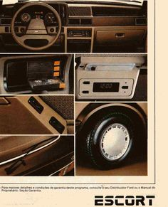 1984 Ford Escort features - Brasil Fiat 500, Mustang, Argentina South America, Verona, Bmw, Mercedes, Ford Escort, Ford Motor Company, All Cars