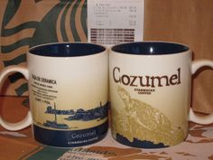 Starbucks Cozumel Icon City Mug 16oz Brand New Mexico with SKU and Price Tag   eBay