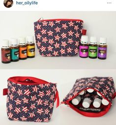 """""""I was gifted this beautiful oil carrier bag! I Looove it it's quality is Top Notch!"""" @her_oilylife  Thanks for letting me repost! I love seeing #sewnowwatinthewild  #sewnowwat #sewnowwatco #usa #stars #starsandstripes #patriotic #gifts #reviews #positivereviews #handmade #etsy #quality #essentialoils #essentialoilbag #youngliving #younglivingeo #yleo #younglivingeobags #essentialoiltravelcase #sewing #repost #photooftheday by sewnowwatco"""