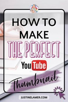 Learn how to make the perfect YouTube thumbnail for your YouTube Video. In this blog post, I am teaching you the way of YouTube Thumbnail and how to make eye-catching YouTube Thumbnail. Here is the secret on how to make a YouTube Thumbnail. #YouTubethumbnail #YouTubeChannel Marketing Tools, Online Marketing, Social Media Marketing, Marketing Strategies, Content Marketing, Digital Marketing, Gfx Design, Graphic Design, Youtube Advertising