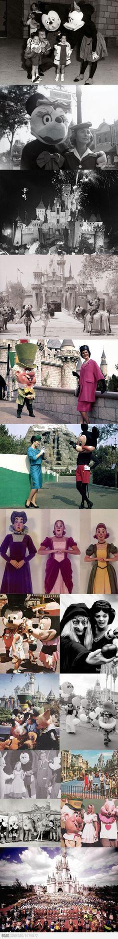 Old photos from Disneyland & Walt Disney World Disney Parks, Disney Nerd, Disney Theme, Disney Love, Disney Fanatic, Disney Addict, Retro Disney, Old Disney, Disney And Dreamworks