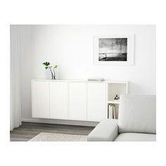 EKET Väggmonterad skåpkombination - vit - IKEA