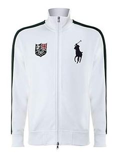Polo Ralph Lauren Wimbledon big pony zip through sweatshirt #PoloRalphLauren #Wimbledon