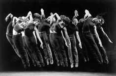 Fosse. They practiced until their feet bled. I've done that. Worth it.