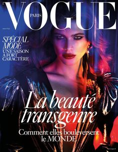 Emmanuelle Alt Publishes a Groundbreaking Cover of Transgender Model Valentina Sampaio on French Vogue's March 2017 Issue