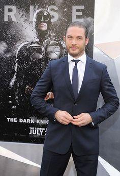 'Dark Knight Rises' premiere: Tom Hardy