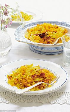 Mary Berry's Absolute Favourites: Persian rice   Daily Mail Online