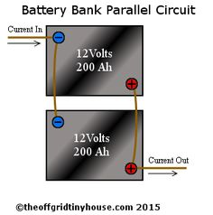 battery bank parallel circuit
