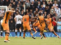 Result: Hull City win 3-0 at Derby County to put one foot in playoff final