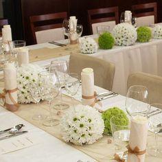 svatební stůl dekorace - Hledat Googlem Handmade Decorations, Flower Decorations, Wedding Decorations, Table Decorations, Table Arrangements, Flower Arrangements, Elegant Wedding, Rustic Wedding, Low Centerpieces