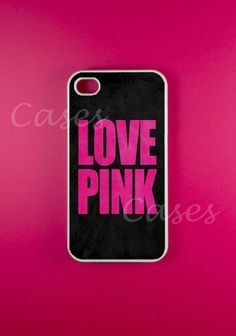 Iphone 4 Case - Love Pink Iphone Case,Iphone