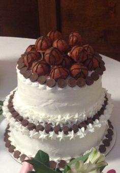 Grooms Cake--cake pops & Mini Reese's