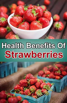 If you're not already a fan of strawberries, you should be. Not only are they juicy, summery and delicious, they're a bona fide superfood, too. Nutrient-rich and packed with antioxidants (like vitamin C), the benefits of strawberries are endless, and some will even surprise you.   #healthbenefits #strawberries #benefitsofstrawberry #strawberry #superfood #healthybody #healthyfitness #fitnessbody #healthhyfruit
