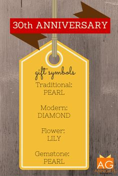 1000 Images About 30th Anniversary Gift Ideas On Pinterest