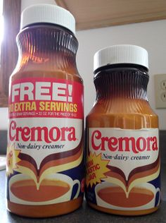 Cremora Non-dairy Creamer. I remember my grandmother using this.