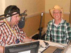 Being interview by Will UK Country Radio DJ Listeners Club Award 2011