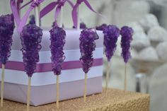 Dessert+Table+Toronto+Wedding+Shower+Rock+Candy+Purple+Gold+Sweet+Design+Company.jpg (1106×737)