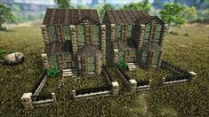 Ark Survival Evolved Bases, Evolution, Environment, Games, Drawings, Building, House, Ideas, Home