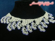 New Crochet Jewelry Collection, March 2014 by Fine Crocheted Jewelry www.finecrochetedjewelry.blogspot.ro