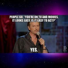 Ha ha!  #Dareyoyeledun  #Greatness #DavidSpade #Tv  #Truth #Fact #Comics #Comedy #ComedyFestival #ComedyClubs #ComedyShows #ComedyFestivals #ComedyNights #ComedyLife #CCStandUp #ComedyClub #ComedyNight #Comedian #Comedians #ComedyCentral #ComedyTextPosts #ComedyShow #HuffpostComedy