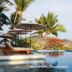 Catch some rays poolside at WorldMark Zihuatanejo in MX