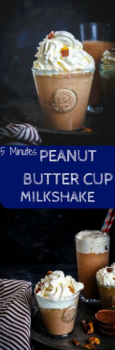 This 5 Minutes Peanut Butter Cup Milkshake is loaded with Ice cream, Peanut Butter Cup and lots of deliciousness. Whats not to love about it!!