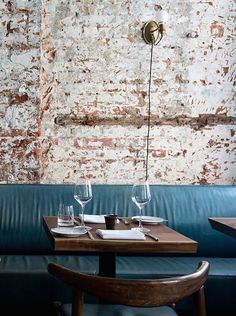 Located in Manhattan's Nolita, The Musket Room showcases an alluring and inviting interior, created by London design studio Alexander Waterworth Interiors. There is this unique mix of old industrial and edgy trendy feel. The design studio deliberately approached the design of The Musket Room by creating a space with a certain level of detail but that was still unpretentious :...: